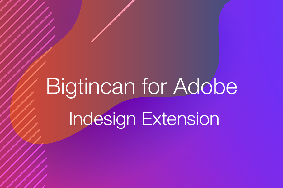 """Adobe Indesign extension blog"""