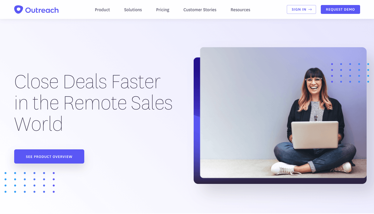 Outreach platform: Close Deals Faster in the Remote Sales World